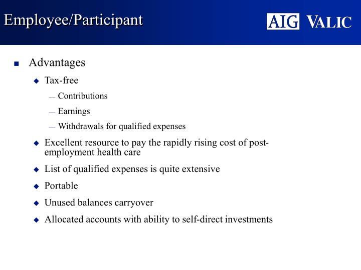 Employee/Participant