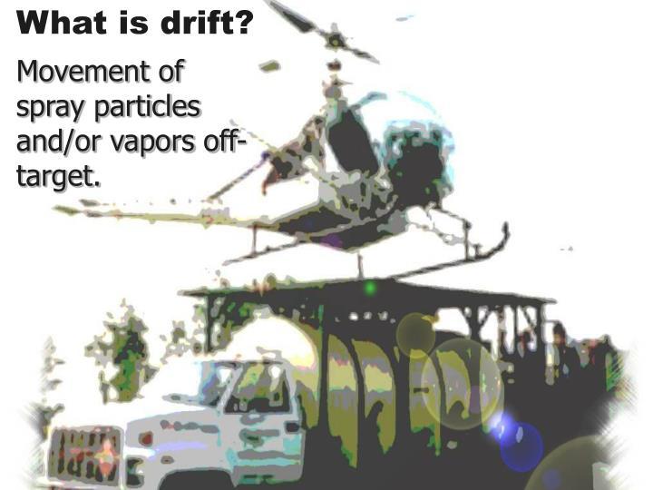 What is drift?