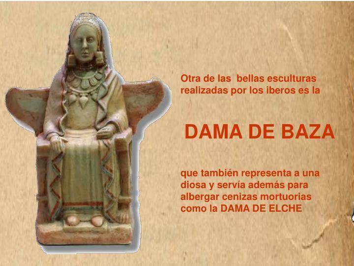 Otra de las  bellas esculturas realizadas por los iberos es la