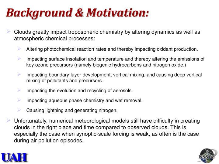Background & Motivation: