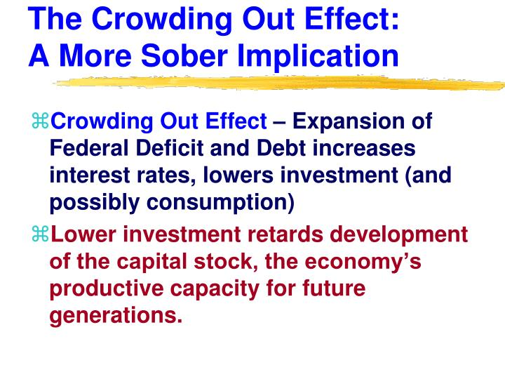 The Crowding Out Effect: