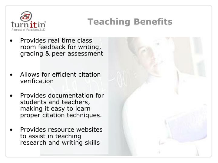Teaching Benefits