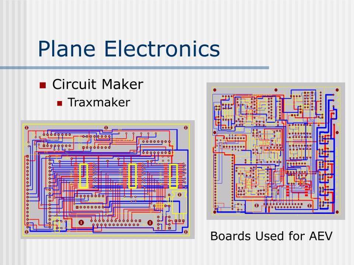 Plane Electronics