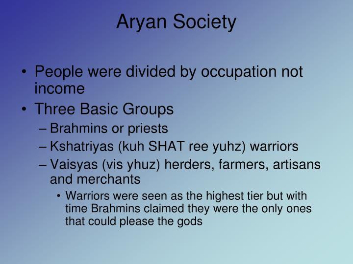 Aryan Society