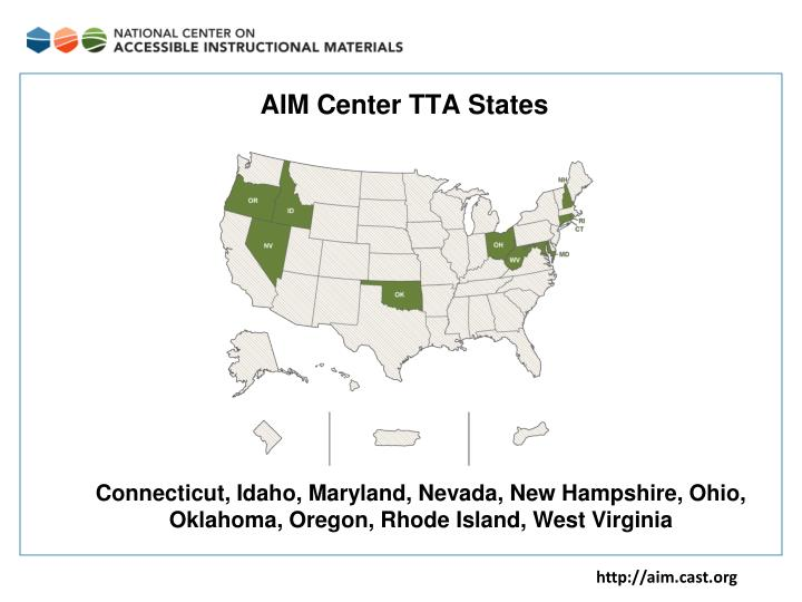 AIM Center TTA States