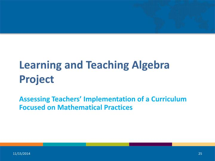 Assessing Teachers' Implementation of a Curriculum Focused on Mathematical Practices