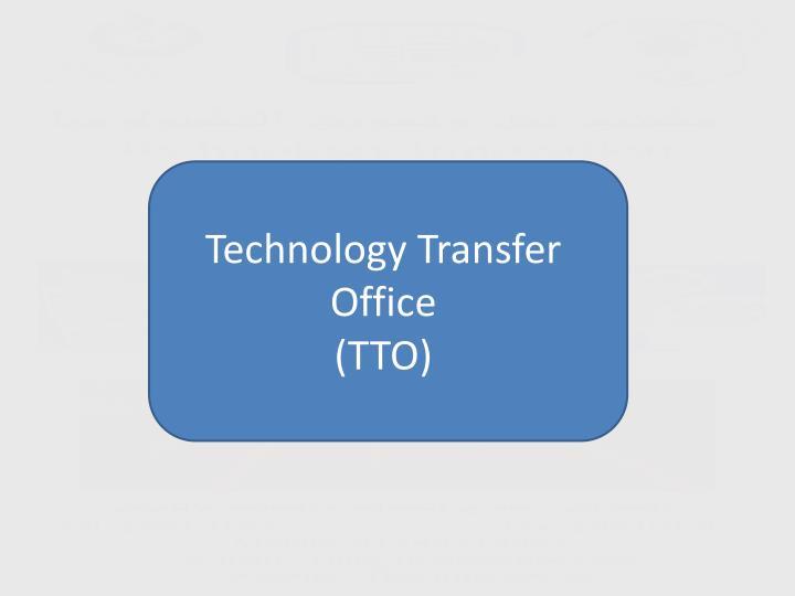 Technology Transfer Office