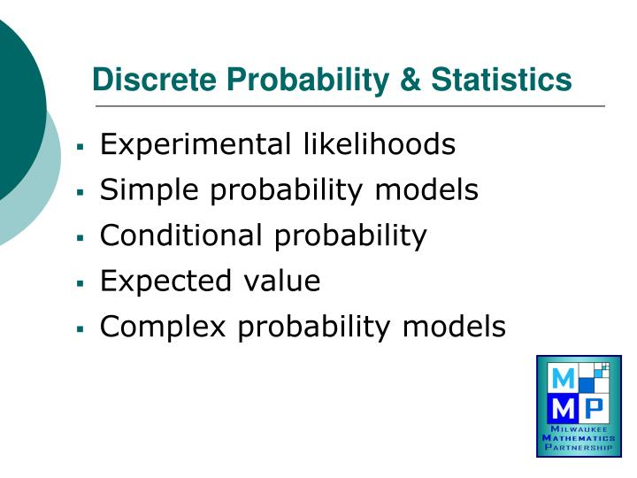 Discrete Probability & Statistics