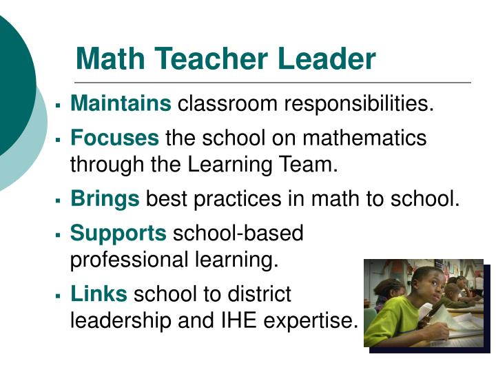 Math Teacher Leader