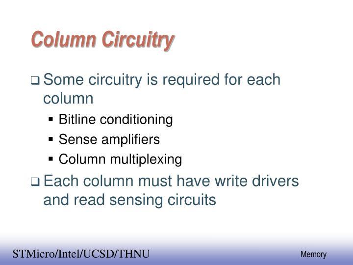 Column Circuitry