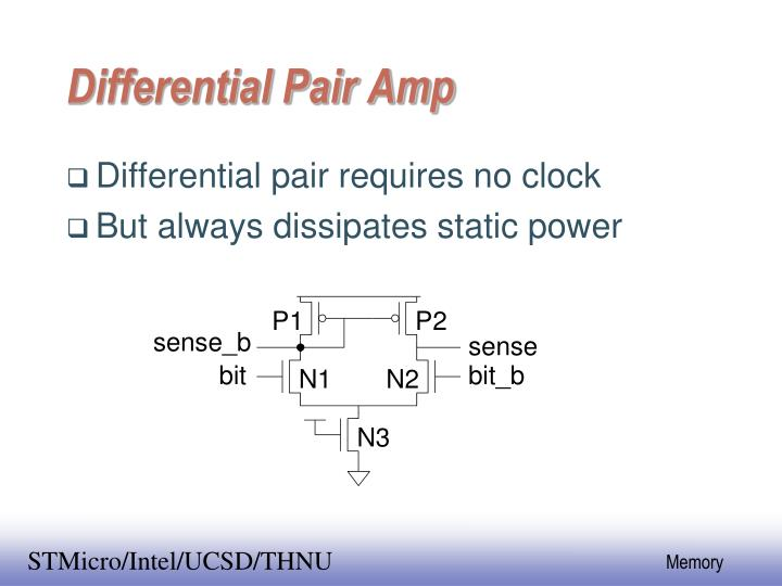 Differential Pair Amp