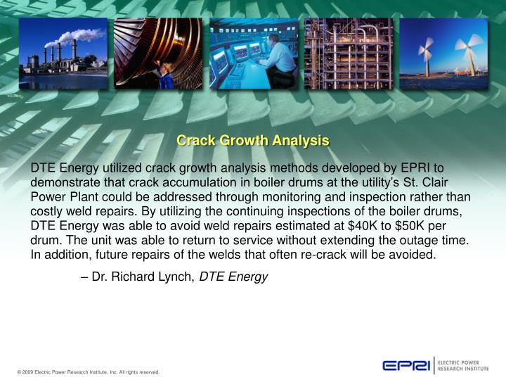 Crack Growth Analysis