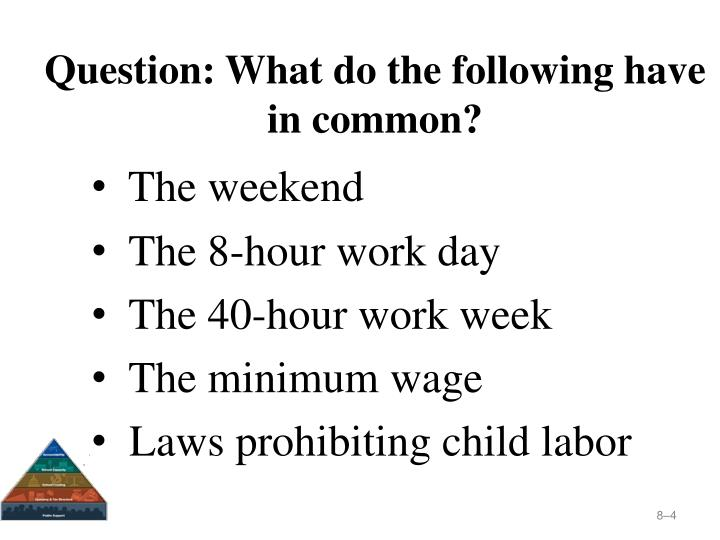 Question: What do the following have in common?