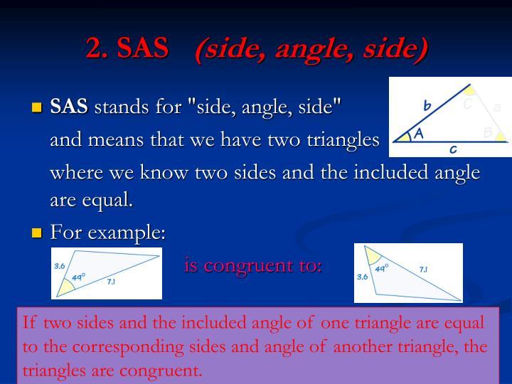 2. SAS