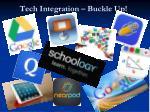 tech integration buckle up