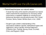 mental health over the life course cont1
