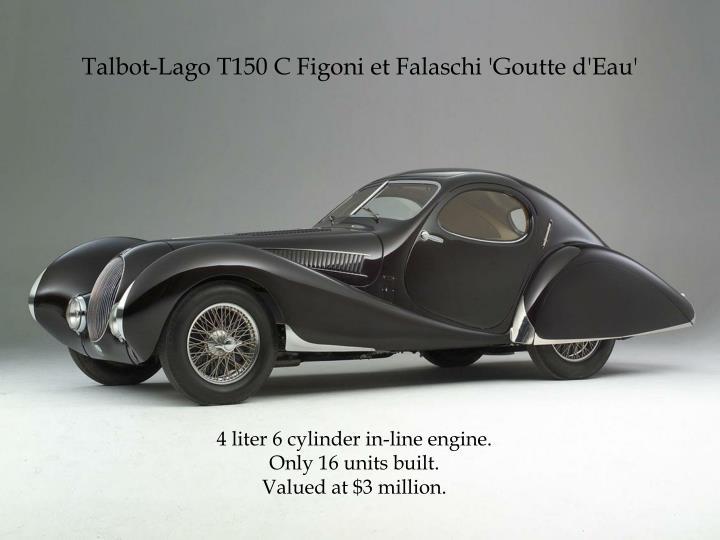 Talbot-Lago T150 C Figoni et Falaschi