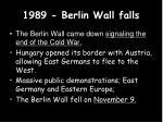 1989 berlin wall falls