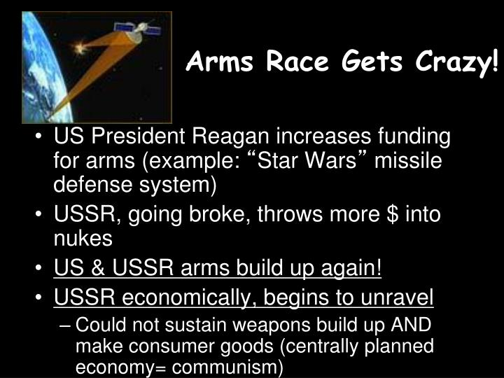 Arms race gets crazy