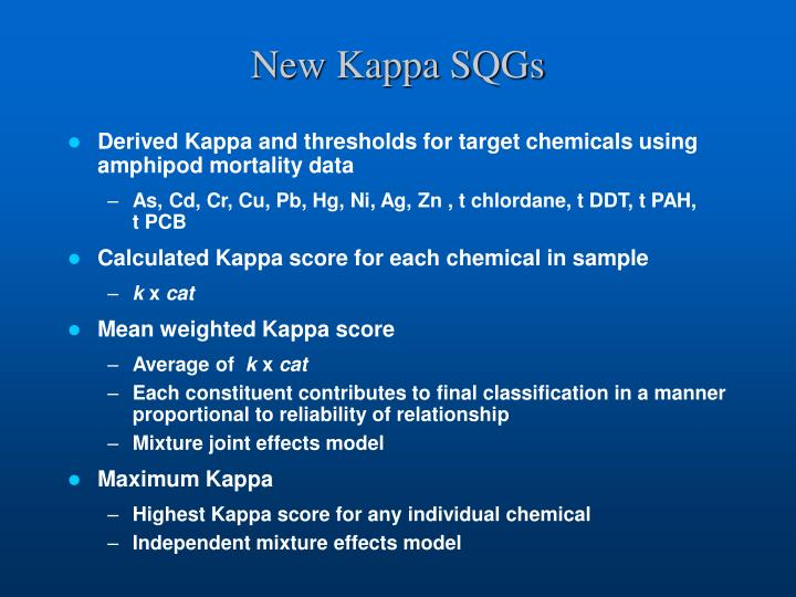 New Kappa SQGs