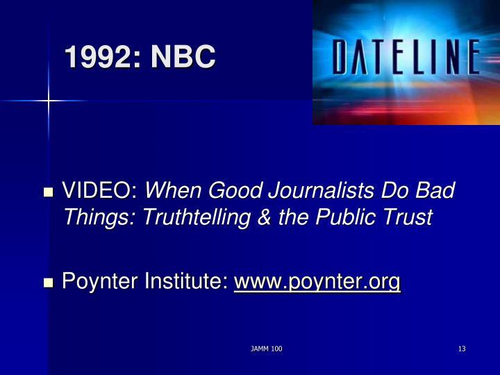 1992: NBC