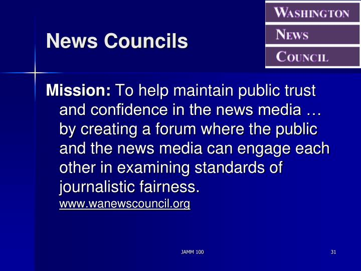 News Councils