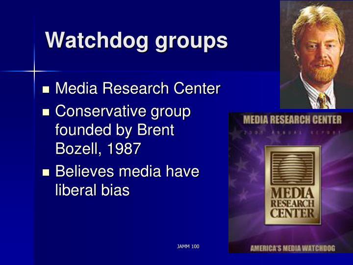 Watchdog groups