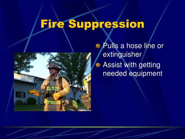 Fire Suppression