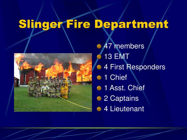 Slinger fire department