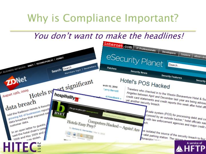 Why is Compliance Important?