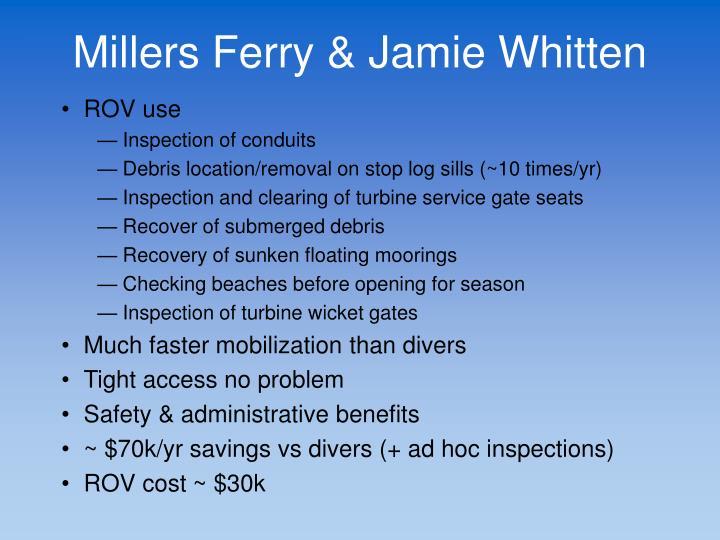 Millers Ferry & Jamie Whitten