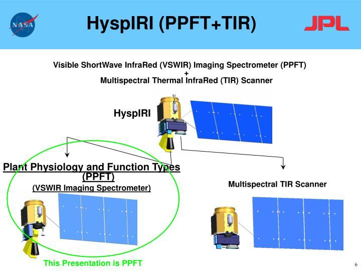 HyspIRI (PPFT+TIR)