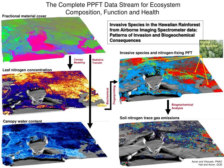 The Complete PPFT Data Stream for Ecosystem Composition, Function and Health
