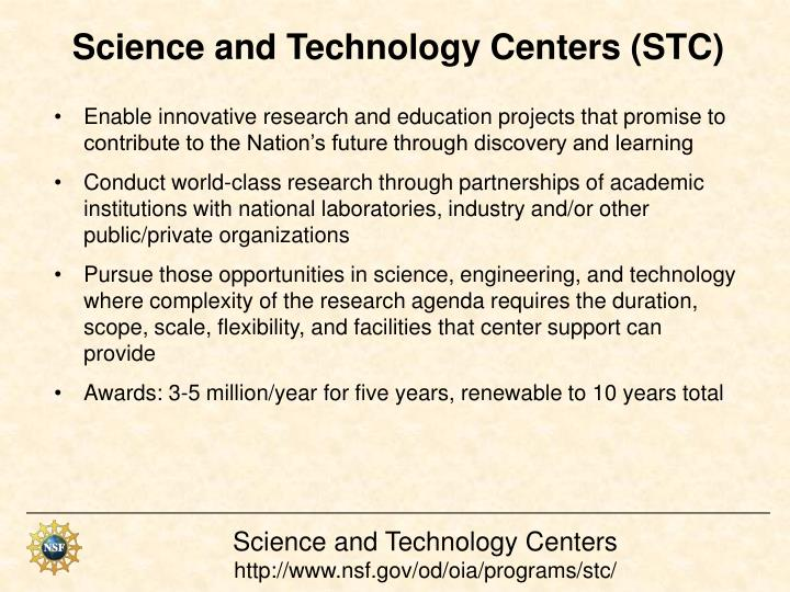 Science and Technology Centers (STC)