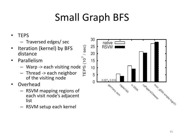 Small Graph BFS