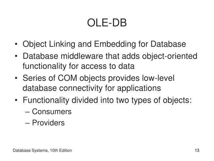 OLE-DB