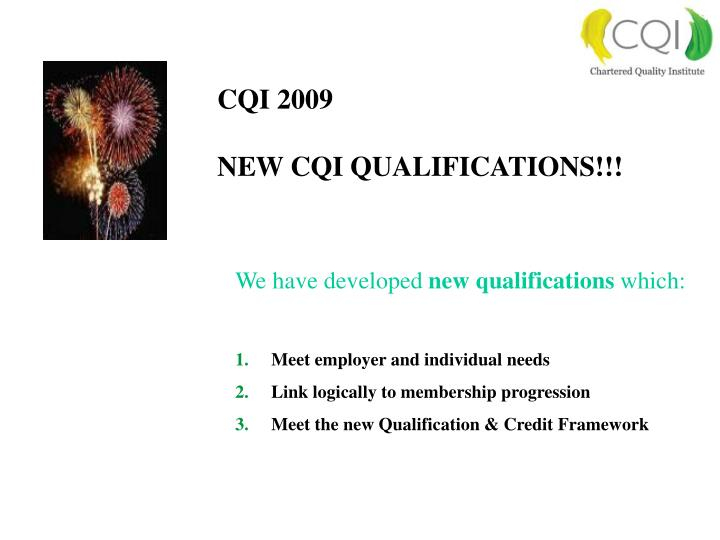 CQI 2009