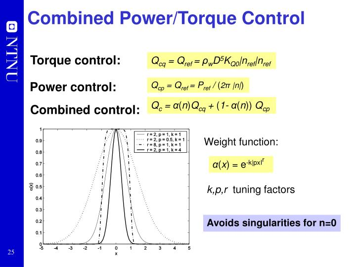 Combined Power/Torque Control