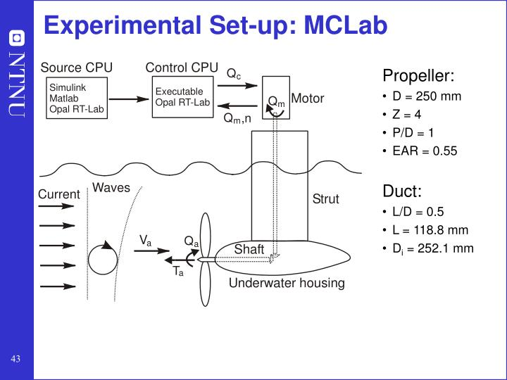 Experimental Set-up: MCLab