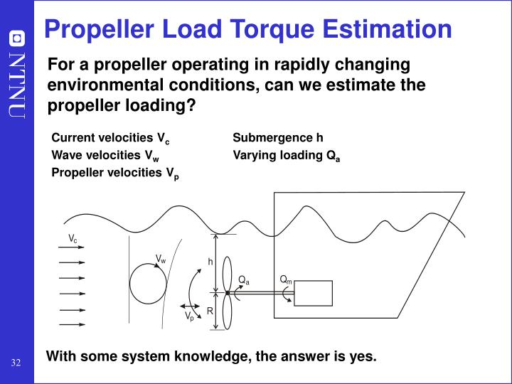 Propeller Load Torque Estimation