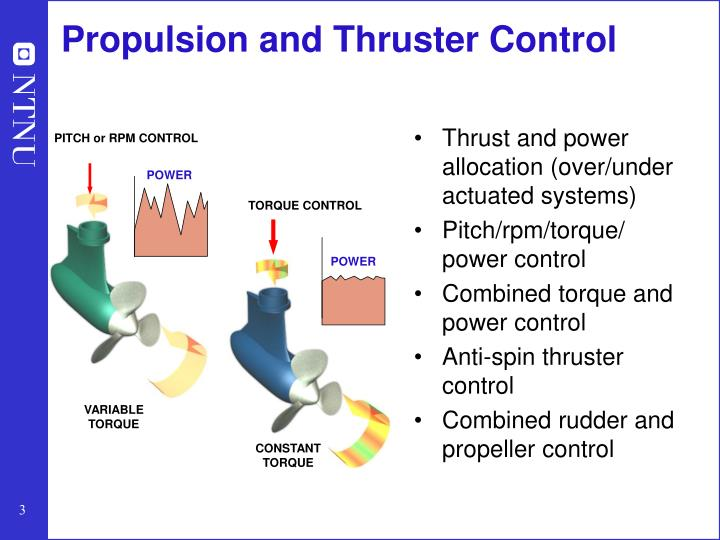 Propulsion and Thruster Control