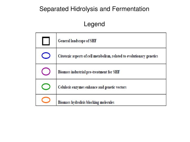 Separated Hidrolysis and Fermentation