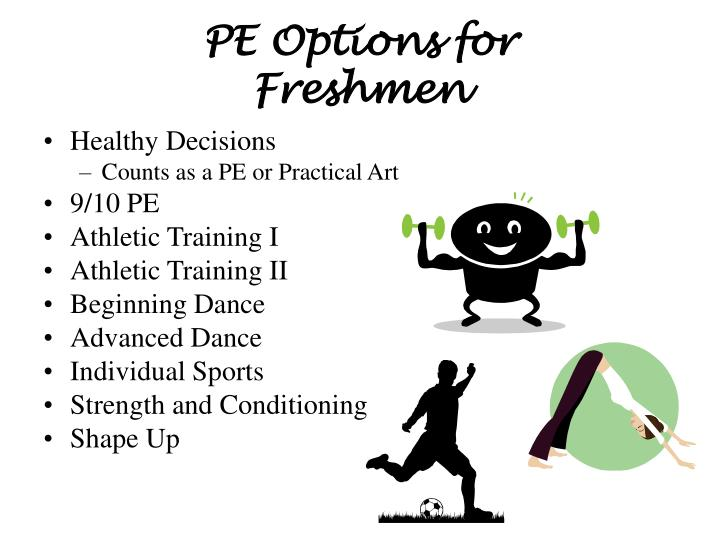 PE Options for