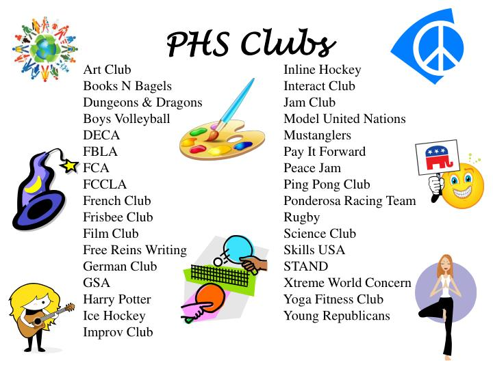 PHS Clubs