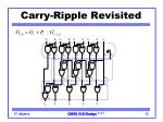 carry ripple revisited