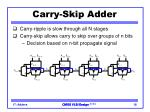 carry skip adder