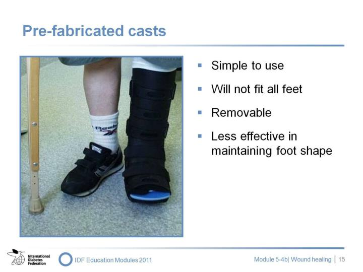 Pre-fabricated casts