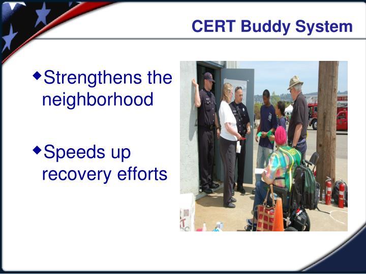 CERT Buddy System