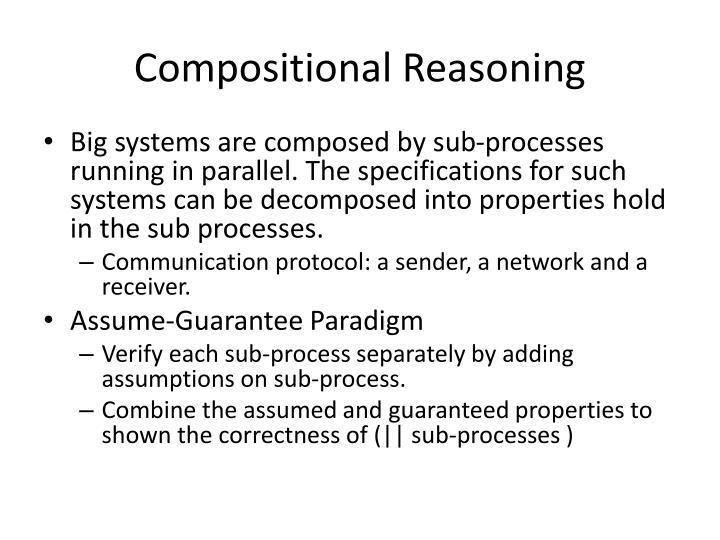 Compositional Reasoning