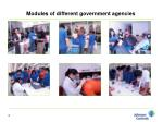 modules of different government agencies1